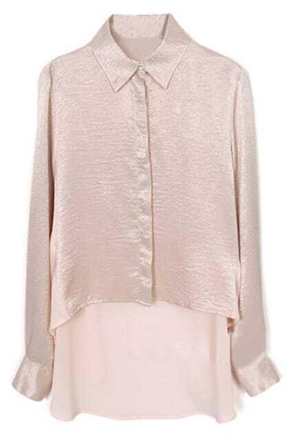 Pink Semitransparent Shirt