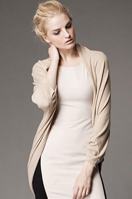 Cream Cape Style Coat