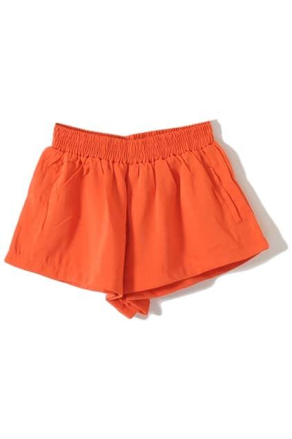 Retro Orange Lantern Shorts