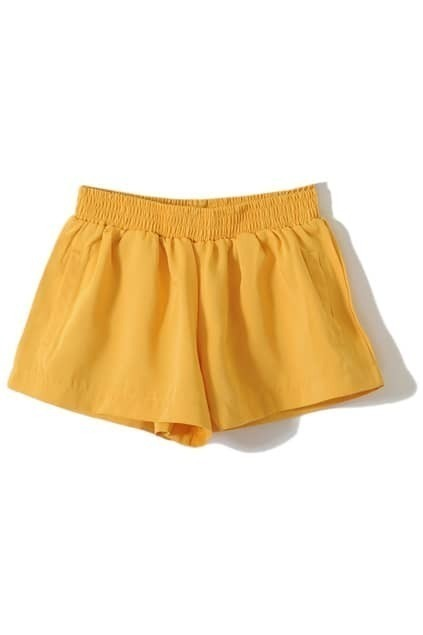 Retro Yellow Lantern Shorts