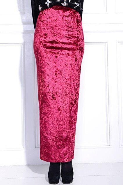 Furcal Pocket Red Skirt