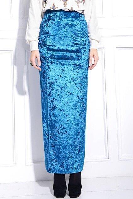 Furcal Pocket Blue Skirt
