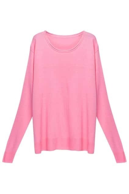 Loose Boxy Pink Jumper