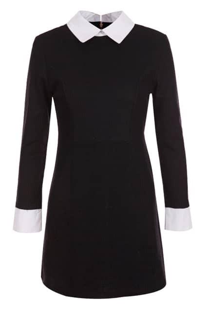 College Wind Black Dress