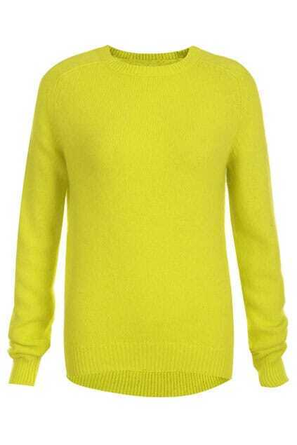 Asymmetric Yellow Jumper