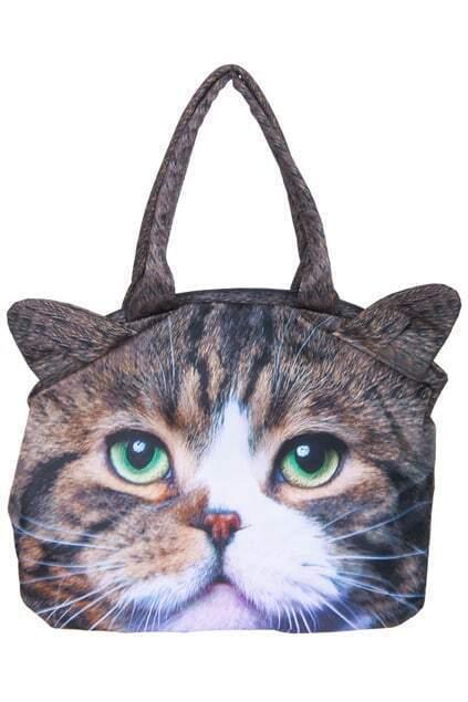 Cute Cat-shaped Handbag