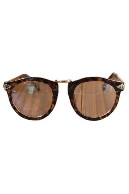 Leopard Printed Frames Sunglasses
