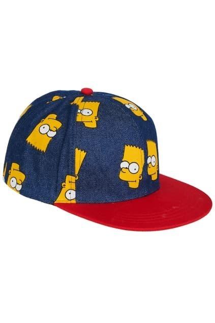Simpson Print Dark Blue Cap