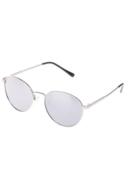 Gradient Silver Tinted Lenses Sunglasses