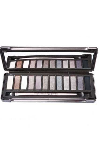 12 Color Makeup Cosmetics Metal Packaging Eyeshadow Palette