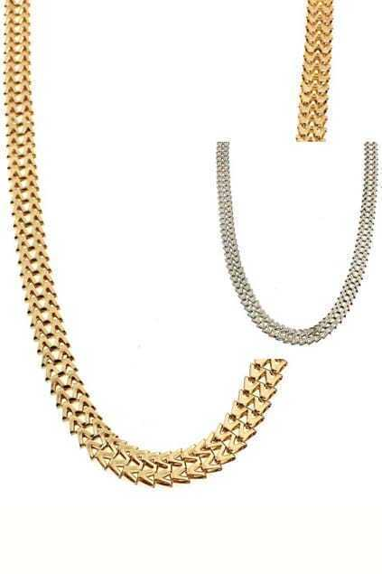 M-shaped Chain Necklace