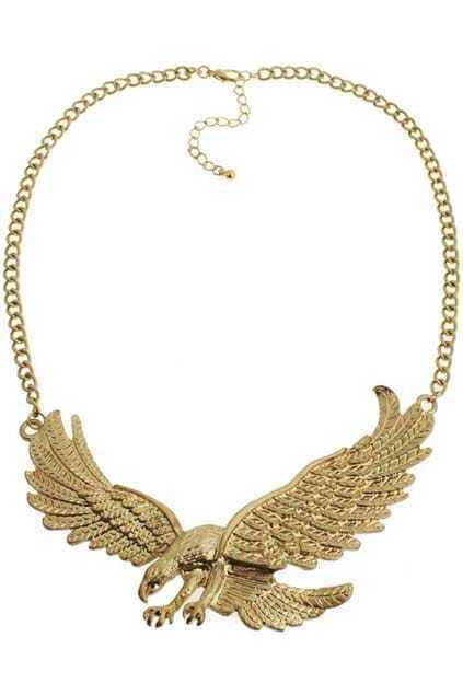Flying Eagle Pendant Necklace