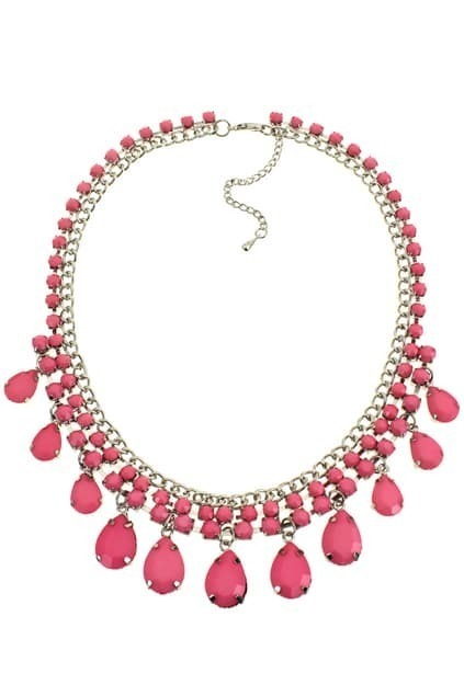 Neon Jeweled Necklace