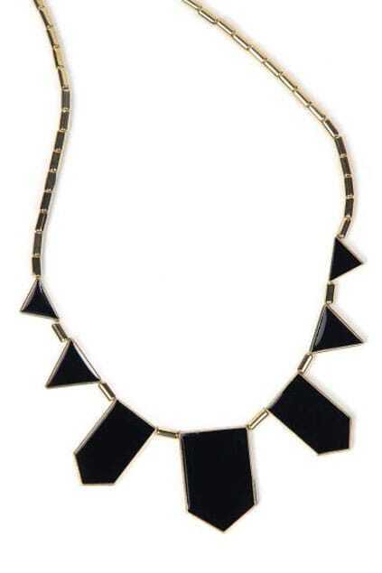 Irregular Geometry Pendant Necklace
