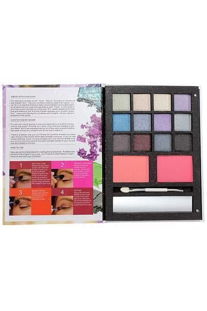 Smoky Eyeshadow Face Blush Powder Brush Makeup Kits