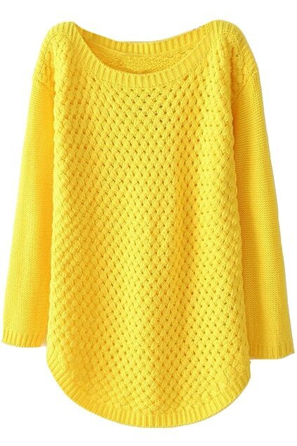Simple Design Yellow Jumper