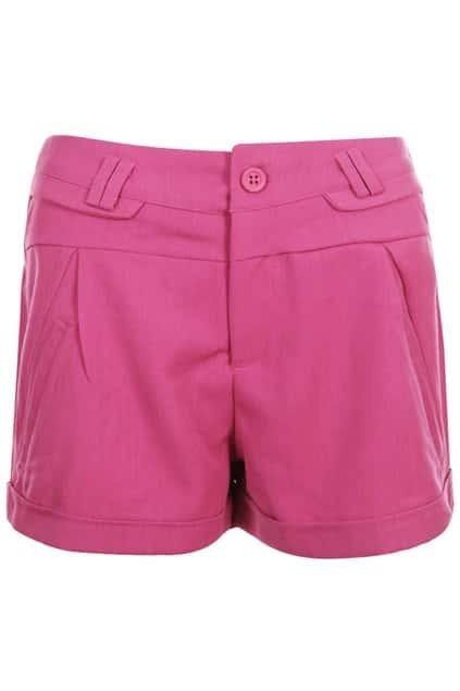 Sweet High-Rise Rose Shorts