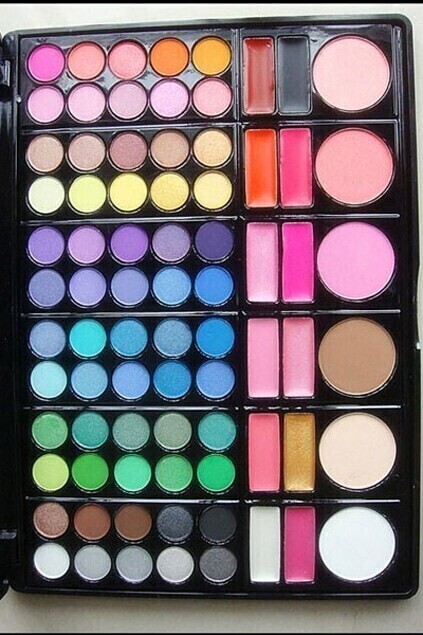 78 Color Makeup Cosmetics Palette