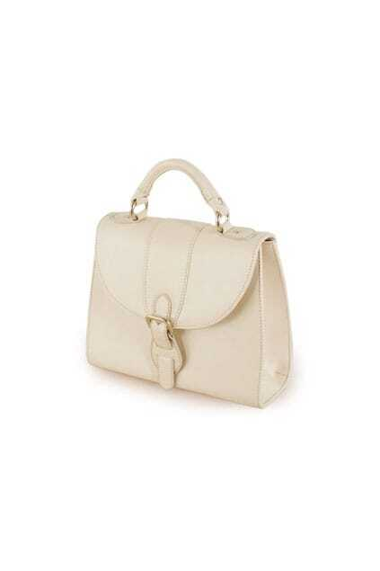 Leather Small Frame Lady Bag