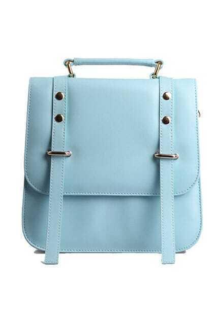 Candy Blue Single Shoulder Bag