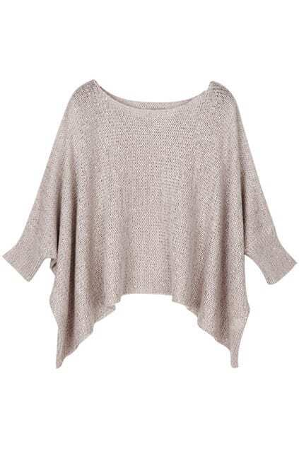 Paillette Light Pink Batwing Jumpers