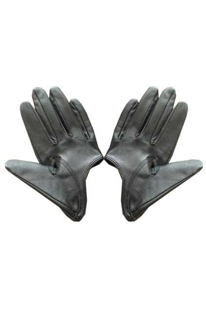 Half Hand Black Gloves