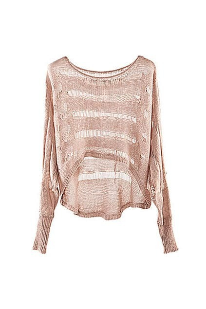 Anomalous Hollow Pink Jumpers