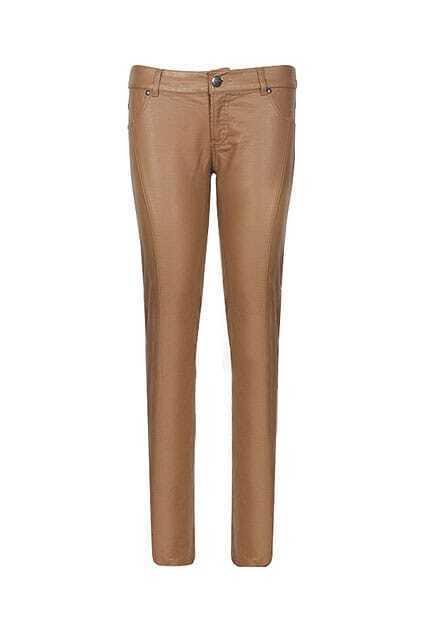 Retro Wild Low-waist Khaki Narrow Leg