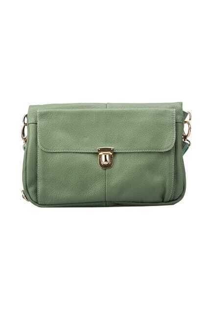 Special Folding Design Green Bag