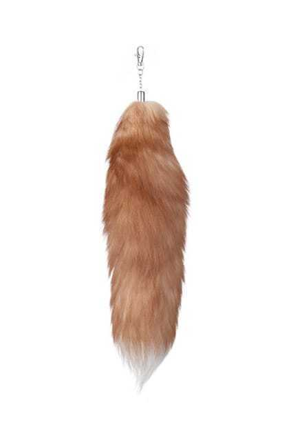 Lovely Fox Tail Yellow Pendant