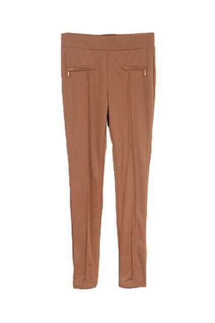 Ankle Length Chocolate Pants