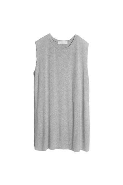 Brief Style Grey Vest
