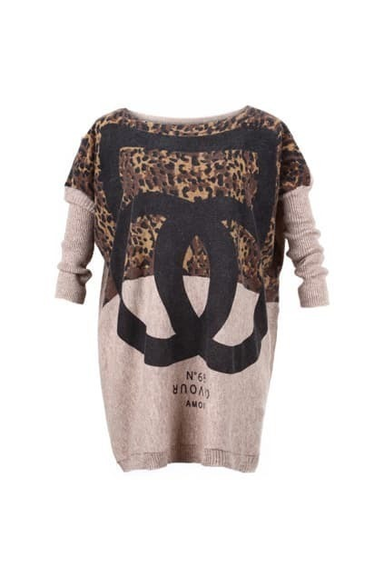 Double C Knitted Jumper