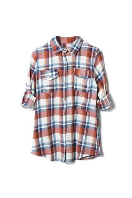 Classic Style Red Checked Shirt