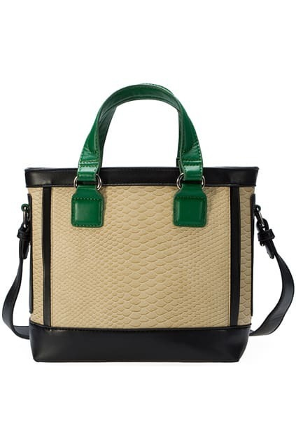 Juliette Retro Snake Green Bag