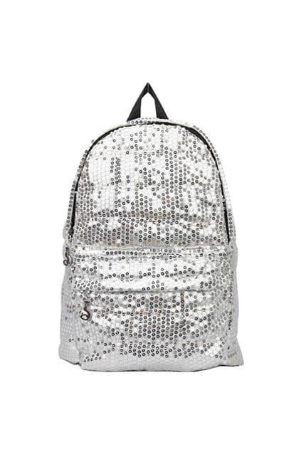 Shinning White Backpack