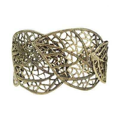 Hollow Out Style Leaf Bracelet