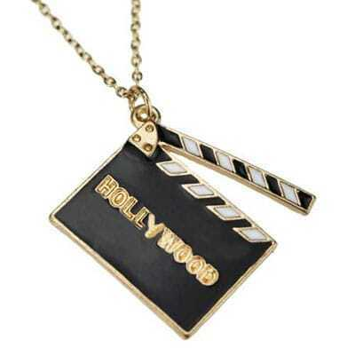 Cut Hollywood Pendant Necklace