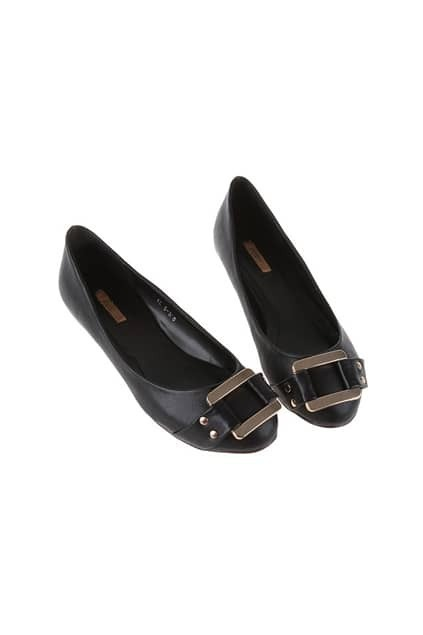 Low-cut Uppers Black Shoes