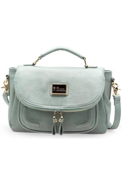 Retro Fashionable Leisure Blue Bag