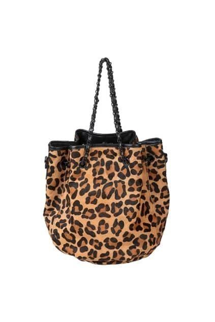 Leopard Chain Tubby Bag