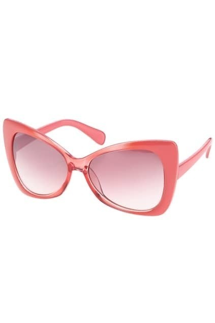Pink Frames Honey Sunglasses