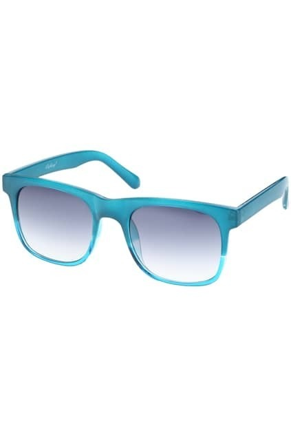 Honey Hued Sky Blue Sunglasses