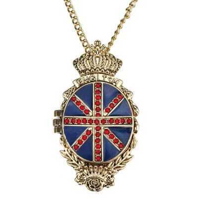 Union Jack Opening Necklace