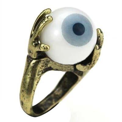Oversized Eye Shaped Ring