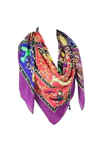 Retro Bohemian National Scarf