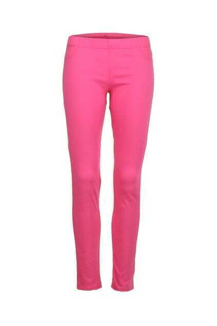 Candy Pink Skinny Pants