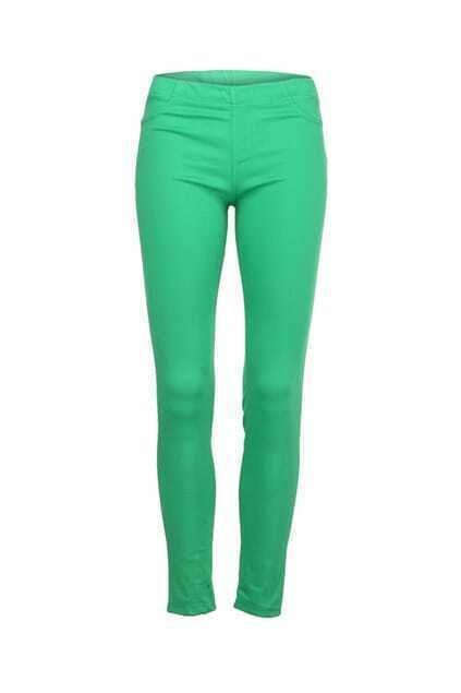 Candy Green Skinny Pants