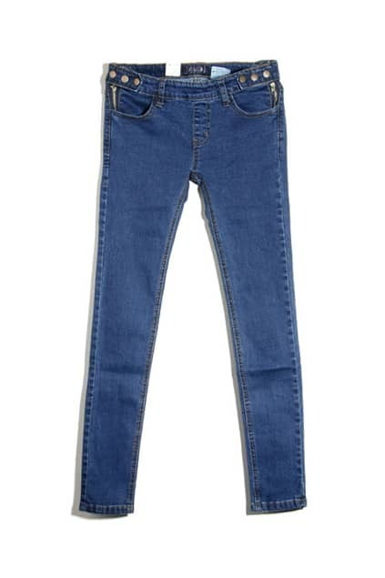 Dark Blue Pencil Jeans