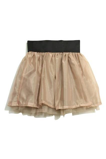 Palace Style Empire Waist Pink Skirt